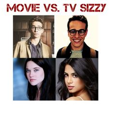 Movie vs. Tv Sizzy You know what? I like the movie a whole lot more then the series. God that doesn't even look like Simon!