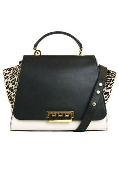 Mini Bag ZAC Zac Posen #animalier - Primavera estate 2014 #zacposen #bags #bag