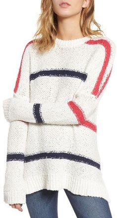 Women's Cupcakes And Cashmere Madden Stripe Sweater #shopstyle #affiliate