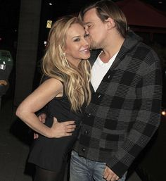 Adrienne Maloof dating  much younger man, Sean Stewart, who is the son of singer, Rod Stewart.