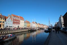 Nyhavn - New Habour in the center of Copenhagen