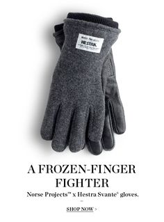 So your hands don't have to freeze because his do #Hanukkah #Winter