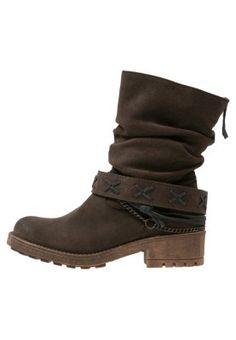 ANGUS - Cowboy/Biker boots - black