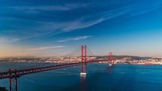 Lisbon - 25 de abril Bridge   #portugal # Lisbon #bridge