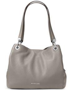 Michael Kors Raven Pebble Leather Tote Handbags   Accessories - Macy s 62c4c439838