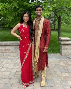 """Jasmine Nguyen on Instagram: """"idk how I went 26 years of my life without going to an Indian wedding, 10/10 would do again"""" Sari, Indian, Traditional, Couples, Jasmine, Wedding, Colorful, Life, Instagram"""