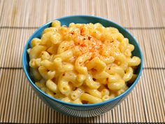 Miracle Mac & Cheese  Serves: 4 Ingredients 2¼ cups milk $0.70 2 cups (1/2 lb.) dry macaroni $0.65 1 cup shredded cheddar cheese $1.25 ¾ tsp salt $0.04 1 tsp dijon mustard (optional) $0.04 ¼ tsp smoked paprika (optional) $0.02 10-15 cranks fresh cracked pepper (optional) $0.02 Boil the pasta in the milk until al dente and whisk in the remaining ingredients.