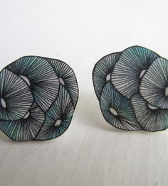 SHRINK PLASTIC EARRINGS  ANNE TRANHOLM