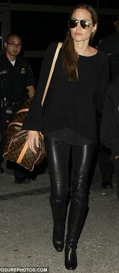 Angie airport style
