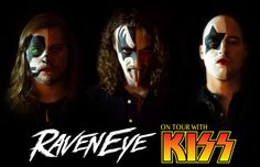 UK rock trio RavenEye are thrilled to announce they have been invited to tour Europe as Special Guests of KISS, one of rock's most notorious and influential bands. They have also been added as Spec…