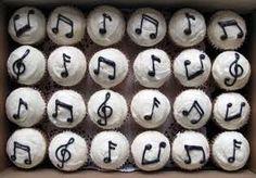 cupcakes musicales - Buscar con Google
