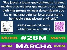 #28M Juntxs contra la Violencia Institucional en la Justicia.