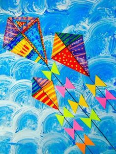 Image result for kite elementary art project | Florida