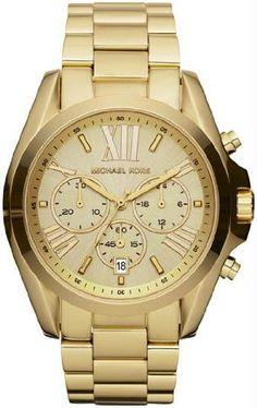 Michael Kors Watches Bradshaw Watch (Gold)