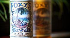 Foxy's Firewater Rum, Foxy's Bar, Jost van Dyke, BVI.