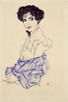 Egon Schiele. Isabel Lederer