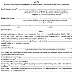 e-Podatnik.pl: Dysponowanie nieruchomością na cele budowlane