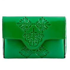 MeDusa Mini Clutch Bag - Green by Gili and Adi