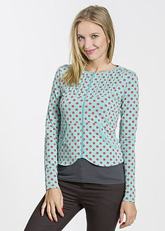 cotton eye josephine zip berry dots #blutsgeschwister