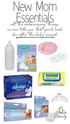 The Best Baby Shower Gift Ever! Postpartum recovery kit, give mommy all of the embarrassing things that you need to recover from giving birth