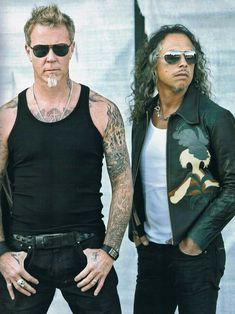 Metallica's James & Kirk