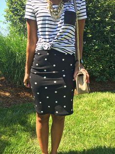 What Nicole Wore: LuLaRoe Cassie Skirt