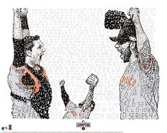 San Francisco Giants 2014 World Series - Baseball Art - Man Cave - SF Giants - Baseball Gift - Bumgarner - Posey - SF Giants Holiday Gifts by LegendarySportsPrint on Etsy https://www.etsy.com/listing/215068114/san-francisco-giants-2014-world-series