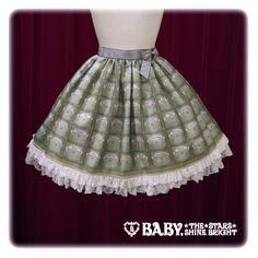 Baby, the stars shine bright Florence's medicine chest skirt