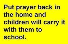 Put Prayer Back In
