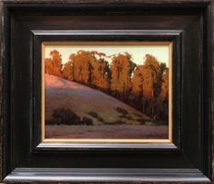 Kevin Courter painting, Light & Shadow, 7x9, oil on linen
