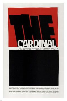 The Cardinal by Otto Preminger MOVIE POSTER JOHN HUSTON 1963 24X36 hot new Brand New. 24x36 inches. Will ship in a tube. Reproduction of aged original vintage art print. Great wall decor art print at