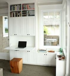 Built in Secretary desk, Lyon & Baehr