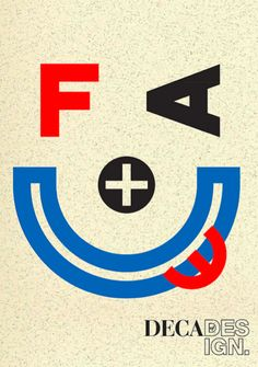 Typography by designer Neville Brody for The Face magazine. British Airways, Typography Layout, Lettering, Type Design, Logo Design, The Face Magazine, Neville Brody, Swatch, Branding