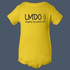 Laughing My Diaper Off LMDO funny t-shirt airwaves custom tees