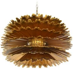Brutalist Torch Cut Chandelier by Tom A Greene  US  1950s - 1960s  Rare and unusual hand crafted torch cut patinated brass chandelier by Tom Greene from the Brutalist Design Movement for the Feldman Company. c.1950s - 1960s.  Please view our entire collection:  (www.center44.com/boutiques/patrickmoultney) or (www.PatrickMoultney.com)