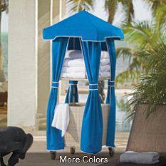Pool Towel Storage On Pinterest Towel Storage Pool