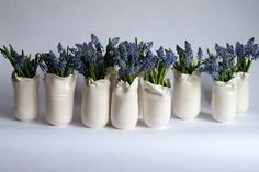 Party favors for a luncheon. Francis Palmer--I am in love with all her ceramics.