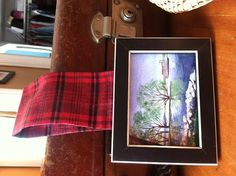 Miniature Framed Print of my painting of by MaryRileyFineArt