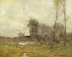 Landscape Painting - Chauncey Ryder