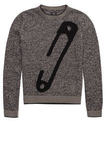 awesome sweater from McQ US line by Alexander McQueen. Mouline Safety Pin Jumper