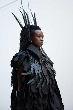 Wearable Art - nature-inspired sculptural fashion // Romance Was Born x Dinosaur Designs