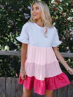 Stylish Dresses, Cute Dresses, Casual Dresses, Summer Dresses, Women's Dresses, Dress Outfits, Fashion Dresses, Cute Outfits, Frack