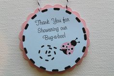Ladybug Favor Tags by DragonFlyPapier on Etsy, $12.00