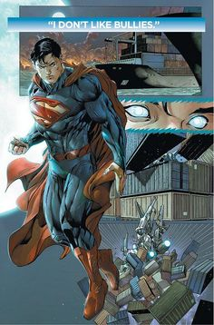 DC Releases First Look At Andy Diggle And Tony S. Daniels ACTION COMICS #19