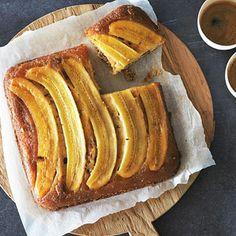 Recept - Omgekeerde bananentaart - Allerhande