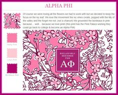 Lilly Pulitzer Alpha Phi