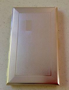 "Genuine Vintage 1950's Cigarette Case. Souvenir Marked Butlins"". Great Condition."