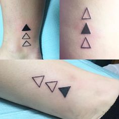 5 Reasons You Should Never Get A Tattoo #tattoo #tattoos #sister #sistertattoos #triangles #bestfriend #bestfriendtattoos #little #littletattoos