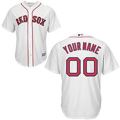 7719c95cc67 David Price Youth Jersey - Boston Red Sox Replica Kids Home Jersey  Officially Licensed by MLB made by Majestic Polyester Cool Base Button-Down  Jersey Team ...