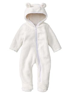 Gap | Sherpa bear footed one-piece